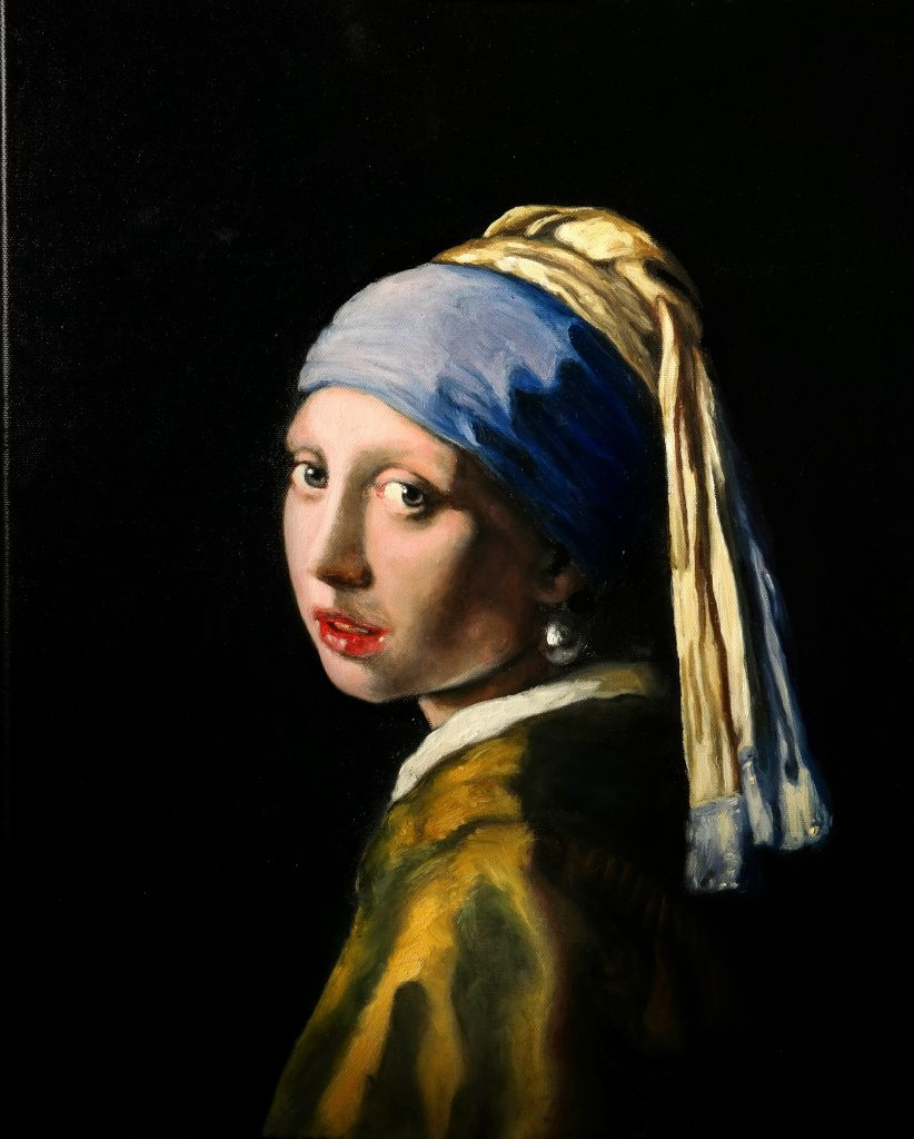 [REPRODUCTION] Girl with the Pearl Earring - Johannes Vermeer